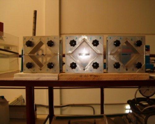 moldes hormigonado corte por diaclasas